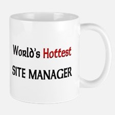 World's Hottest Site Manager Mug