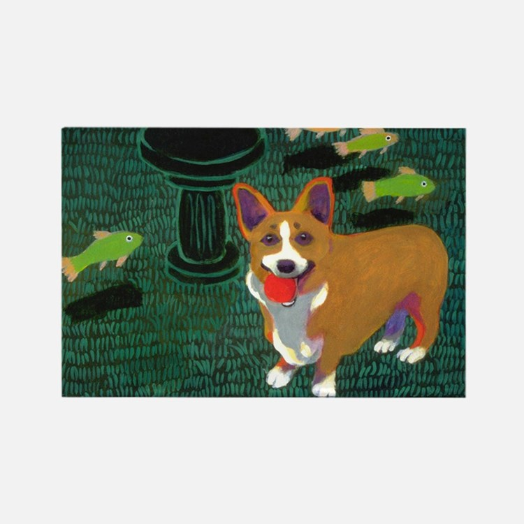 Cute Chase Rectangle Magnet (10 pack)