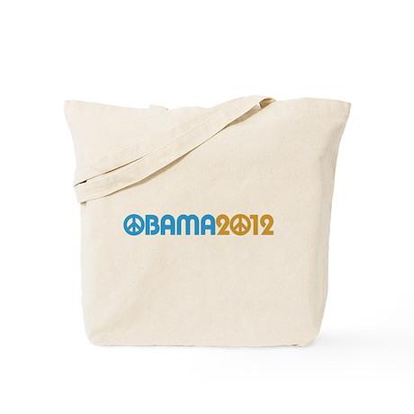 Obama Peace Sign Tote Bag