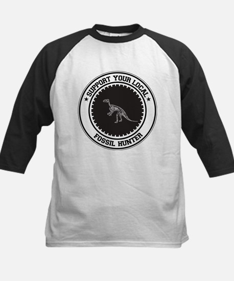 Support Fossil Hunter Kids Baseball Jersey