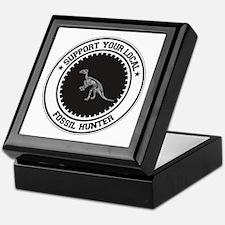 Support Fossil Hunter Keepsake Box