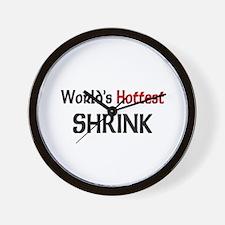 World's Hottest Shrink Wall Clock