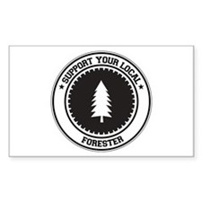 Support Forester Rectangle Decal