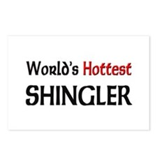 World's Hottest Shingler Postcards (Package of 8)
