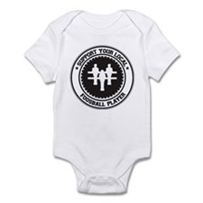 Support Foosball Player Infant Bodysuit