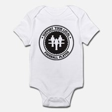 Support Foosball Player Infant Bodysuit