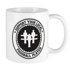 Support Foosball Player Mug
