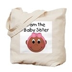 Baby Sister (African American) Tote Bag