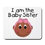 Baby Sister (African American) Mousepad