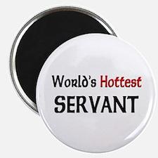 "World's Hottest Servant 2.25"" Magnet (10 pack)"