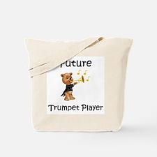 Future Trumpet Player Tote Bag