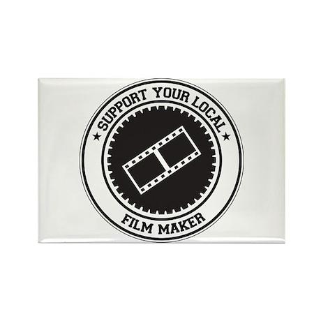 Support Film Maker Rectangle Magnet