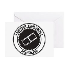 Support Film Maker Greeting Card