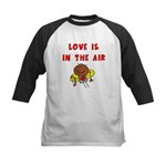 Love is in the Air Kids Baseball Jersey