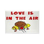 Love is in the Air Rectangle Magnet (100 pack)