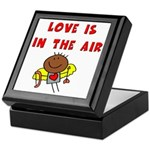 Love is in the Air Keepsake Box