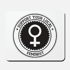 Support Feminist Mousepad