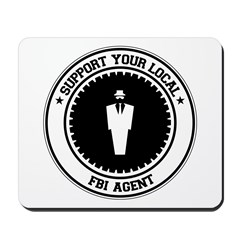 Support FBI Agent Mousepad