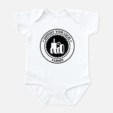 Support Farmer Infant Bodysuit
