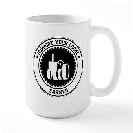 Support Farmer Large Mug