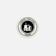 Support Farmer Mini Button