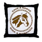 Hawaiian Throw Pillow