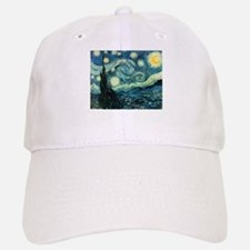 Starry Night Baseball Baseball Cap