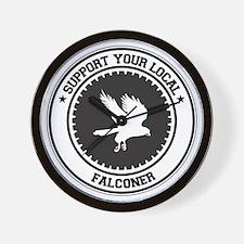 Support Falconer Wall Clock