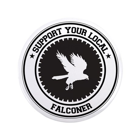 "Support Falconer 3.5"" Button"
