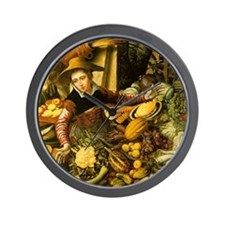 Fresh Vegetables Wall Clock