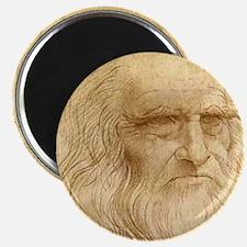 """Leonardo Da Vinci 2.25"""" Magnet (10 pack)"""