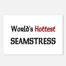 World's Hottest Seamstress Postcards (Package of 8