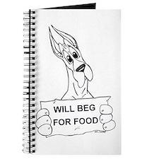 Great Dane Food Beg Journal