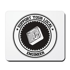 Support Engineer Mousepad