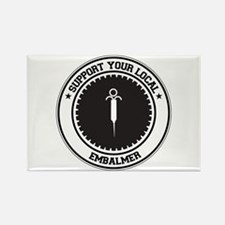 Support Embalmer Rectangle Magnet