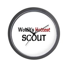 World's Hottest Scout Wall Clock