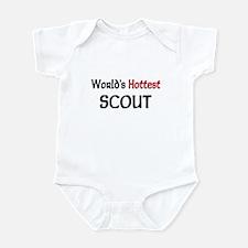 World's Hottest Scout Infant Bodysuit