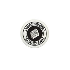 Support Electrical Engineer Mini Button (10 pack)