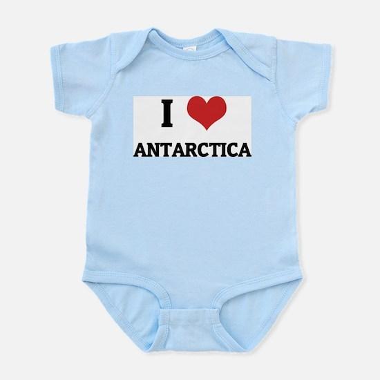 I Love Antarctica Infant Creeper