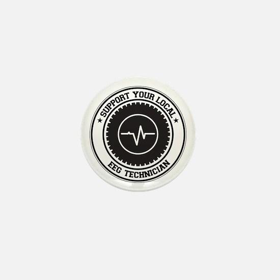 Support EEG Technician Mini Button