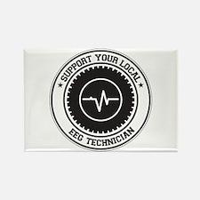 Support EEG Technician Rectangle Magnet