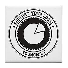 Support Economist Tile Coaster