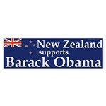 New Zealand Supports Barack Obama