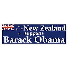 New Zealand Supports Barack Obama