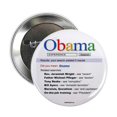 """Obama Search 2.25"""" Button (10 pack)"""