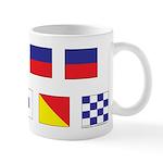 Sailing Masons Flags Mug