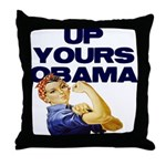 Anti-Obama Throw Pillow