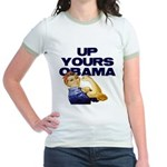 Anti-Obama Jr. Ringer T-Shirt