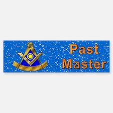 Masonic PM W/Square Bumper Bumper Bumper Sticker