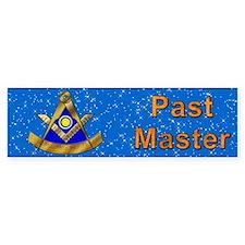 Masonic PM W/Square Bumper Bumper Sticker